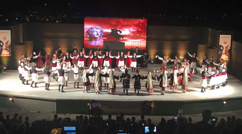 Στην παράσταση «Ελλήνων Δρώμενα» της Ακαδημίας Χορών Ελασσόνας ο Γ. Κατσιαντώνης