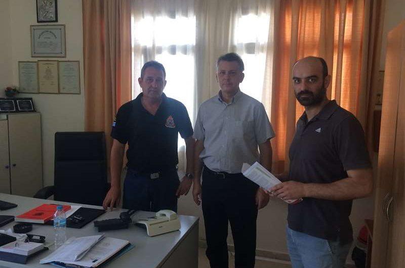 Περιοδεία στην Ελασσόνα του συμβούλου της Λαϊκής Συσπείρωσης Θεσσαλίας