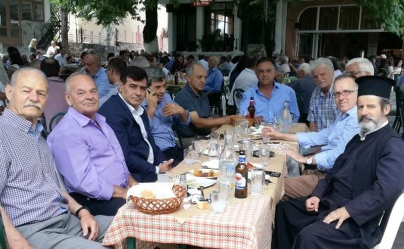 Στη Βερδικούσια για τον εορτασμό του Προφήτη Ηλία ο βουλευτής Χρ. Κέλλας