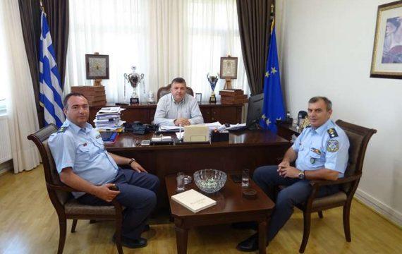 Επίσκεψη Περιφερειακού Διευθυντή της ΕΛ.ΑΣ. στο Δήμαρχο Ελασσόνας