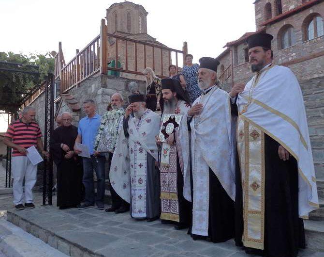 Γιόρτασαν τη Μεταμόρφωση του Σωτήρος στην Ελασσόνα