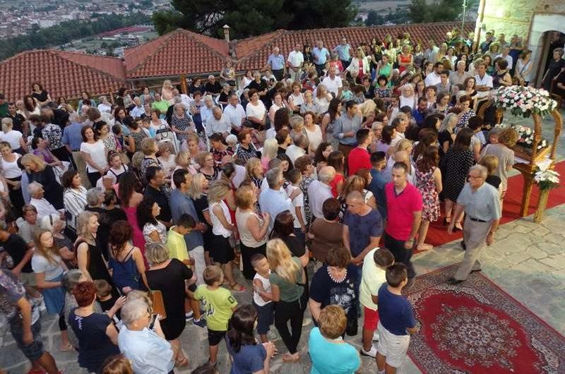 Εκατοντάδες προσκυνητές και φέτος σε Ι. Μονή Παναγίας Ολυμπιώτισσας – Λιβάδι – Τσαριτσάνη