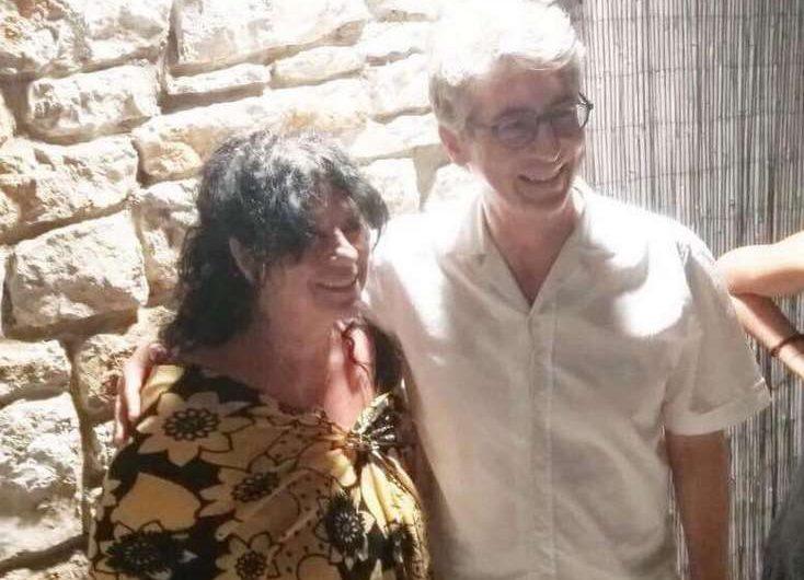 Συνάντηση της Άννας Βαγενά με τον διεθνούς φήμης σκηνοθέτη Αλεξάντερ Πέην