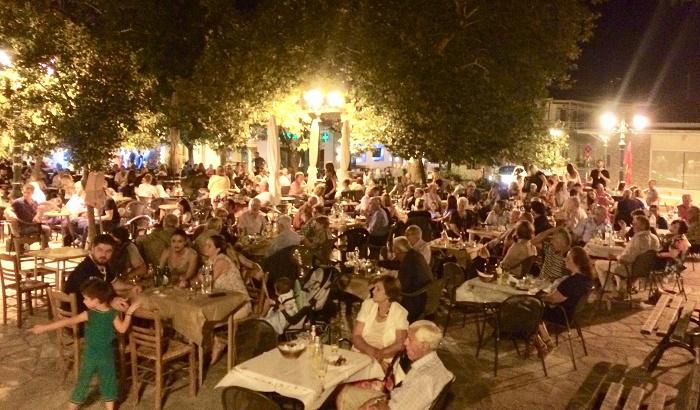 Πολύς κόσμος στο Φεστιβάλ ΚΚΕ – ΚΝΕ στην Τσαριτσάνη