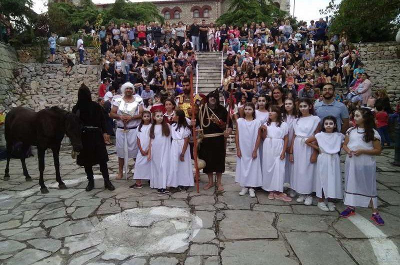 Με μεγάλη επιτυχία η μουσικοθεατρική παράσταση του Χρ. Πατούνα στην Κρανιά Ελασσόνας