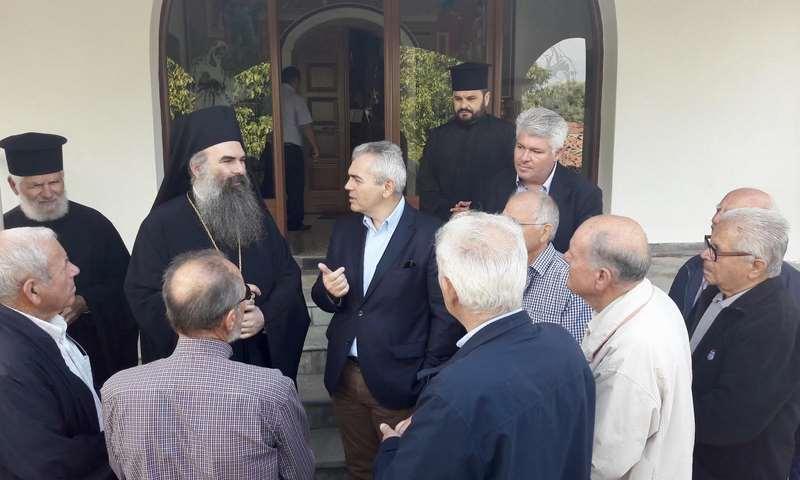 Χαρακόπουλος σε Υπουργό Πολιτισμού: Να αποκατασταθεί ο μεταβυζαντινός ναός της Σκαμνιάς