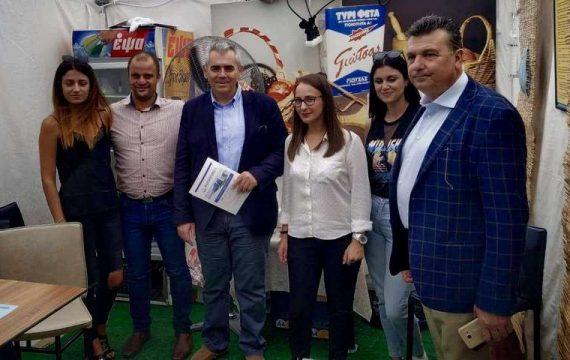 Στη Γιορτή Φέτας στην Ελασσόνα ο Μαξ. Χαρακόπουλος – Προστασία της φέτας από το εισαγόμενο γάλα