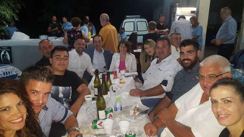Σε Μηλέα, Γιαννωτά, Πύθιο ο βουλευτής Γ. Κατσιαντώνης