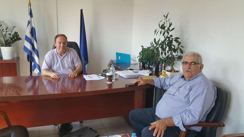 Στον Προϊστάμενο Πρωτοβάθμιας Σ. Βούλγαρη ο βουλευτής Ν. Παπαδόπουλος