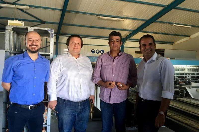 Επισκέψεις στη Βόρεια Ελλάδα πραγματοποίησε ο επικεφαλής της Δημοκρατικής Ευθύνης Θωμάς Παπαλιάγκας