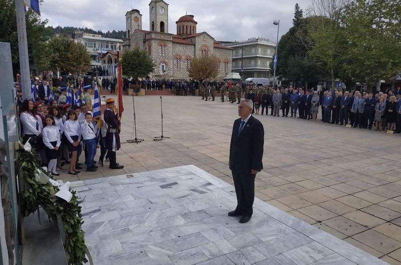 Χαρακόπουλος από παρέλαση Ελασσόνας: «Θα απογοητευθούν όσοι θέλουν να κόψουν τις ρίζες του έθνους!»