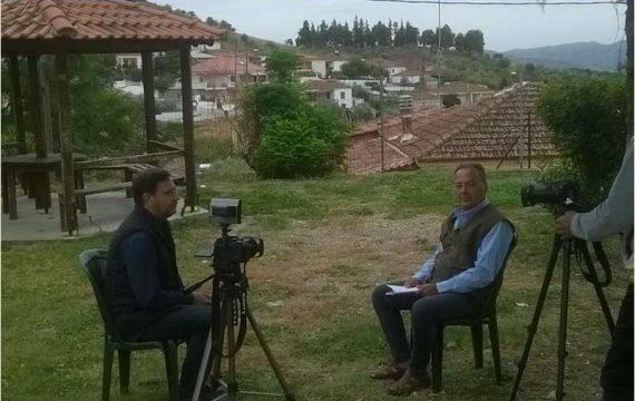 Στάθης Ψωμιάδης: Το Ολοκαύτωμα του Δομένικου στην εκπομπή «Μηχανή του χρόνου»