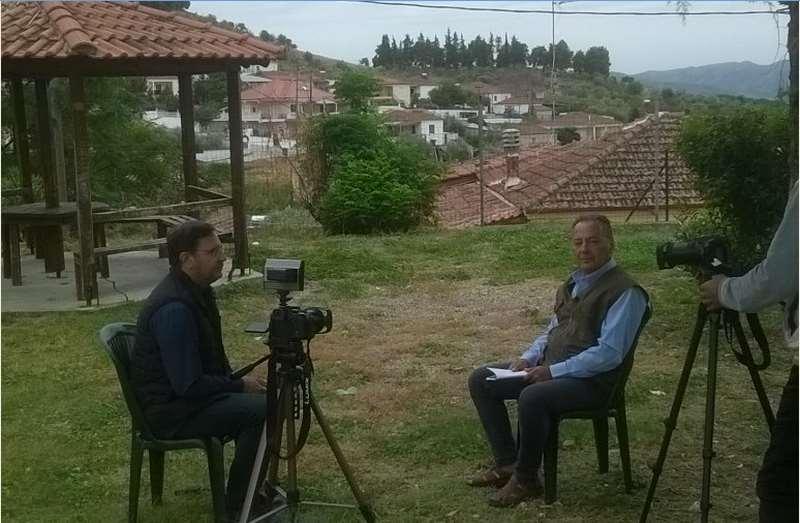 """Στάθης Ψωμιάδης: Το Ολοκαύτωμα του Δομένικου στην εκπομπή """"Μηχανή του χρόνου"""""""
