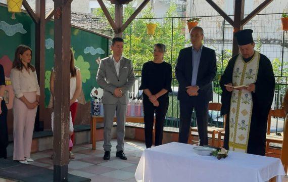 Καλωσόρισε γονείς και νήπια στους παιδικούς σταθμούς ο Δήμαρχος Ελασσόνας