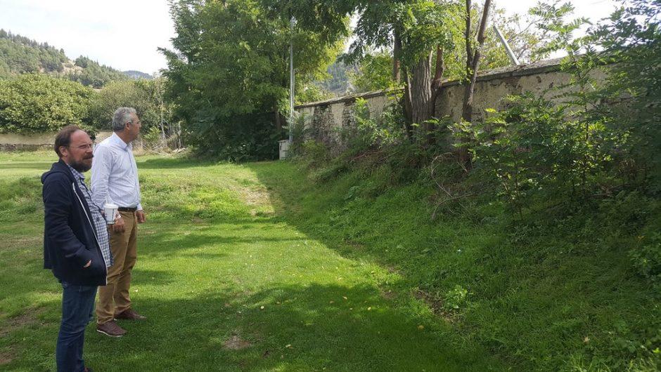 Κλιμάκιο του Δήμου Ελασσόνας στην Τσαριτσάνη