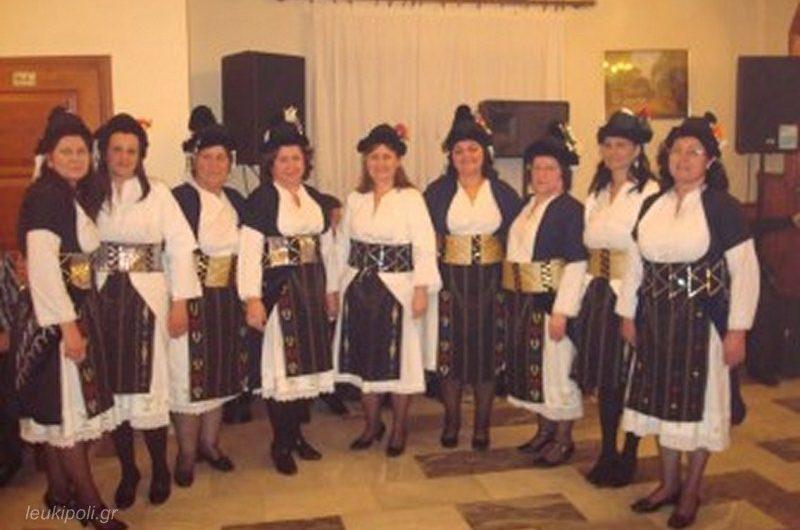 Χορεύουν οι γυναίκες της Δολίχης το Σάββατο