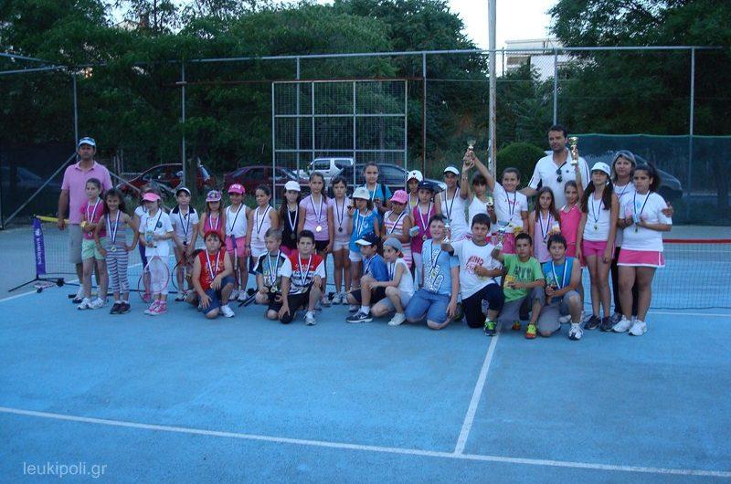 60 μικροί αθλητές στο τουρνουά του Σ.Α.Ε.