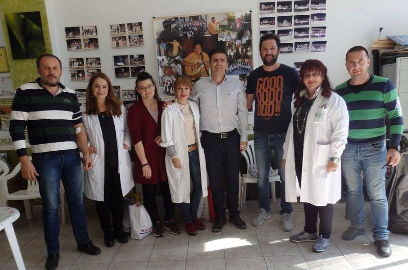 Επιτυχημένη η εθελοντική αιμοδοσία της Λαογραφικής Εταιρείας Ελασσόνας