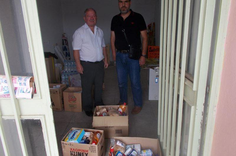 Εξωραϊστικός Σύλλογος Τσαριτσάνης: Διανομή τροφίμων σε ευάλωτες ομάδες