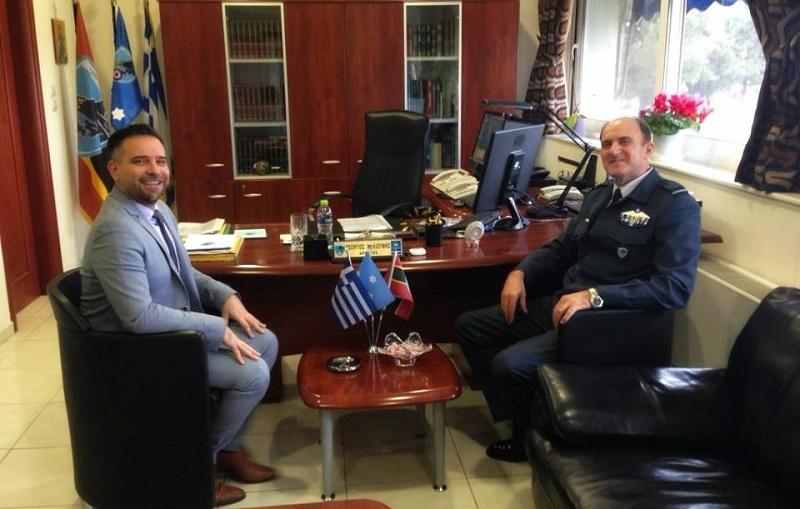 Κατσιαντώνης: Τα ελληνικά φτερά θα πετάξουν ακόμη πιο ψηλά, με Αρχηγό ΓΕΑ, τον Αντιπτέραρχο Γιώργο Μπλιούμη