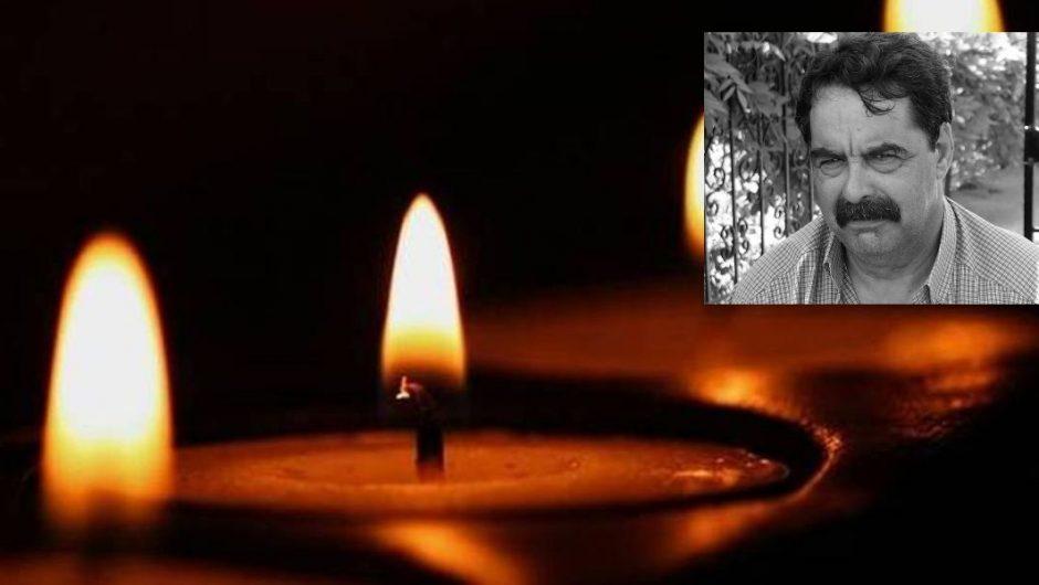 Συγκινητικό αντίο στον Άρη Αγγελάκη, από τη φιλόλογο Ευαγγελία Ράπτου