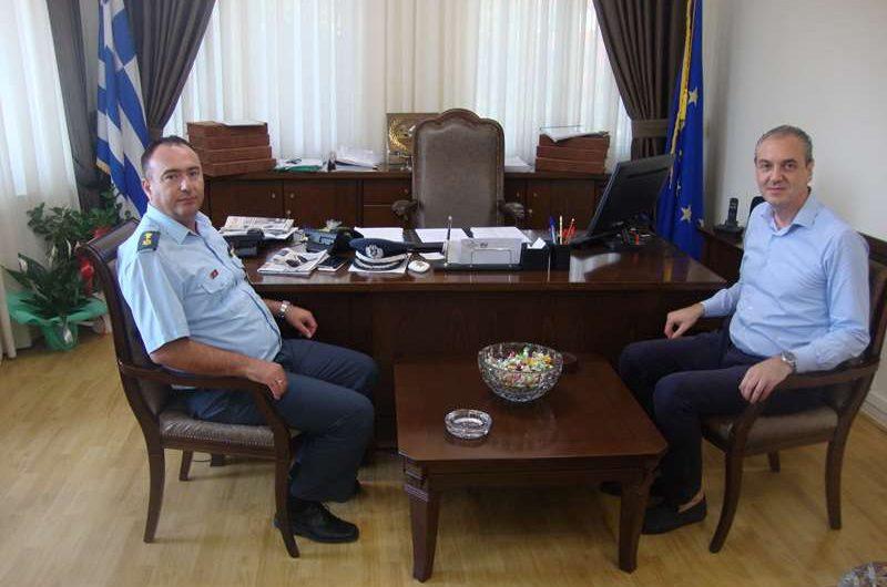 Επίσκεψη του Διοικητή του Α.Τ. Ελασσόνας στο Δήμαρχο