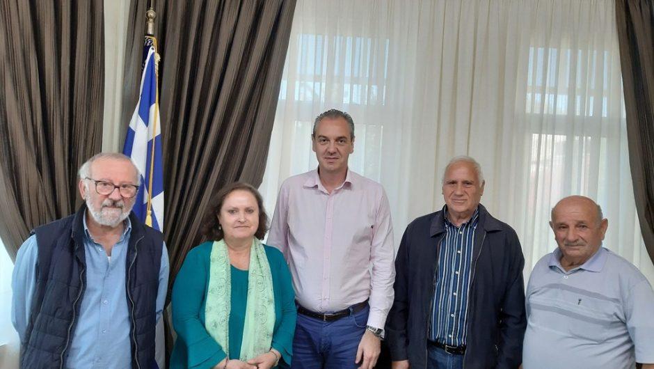 Συνάντηση με μέλη του παραρτήματος Εθνικής Αντίστασης είχε ο Δήμαρχος Ελασσόνας