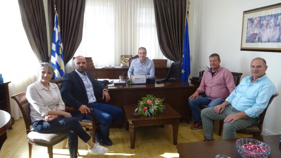 Συνάντηση με τον Διευθυντή του 2ου ΙΕΚ Λάρισας είχε ο Δήμαρχος Ελασσόνας